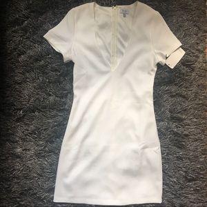 (NWT) White, mini dress from Tobi